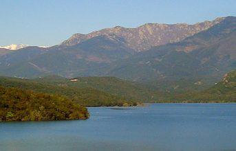 Randonnée autour du lac Boadella
