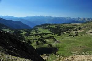 Bergpanorama Andorra