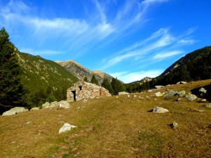 Hirtenhütte - Spanische Pyrenäen