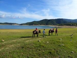 donkeytrekking pantano de Boadella