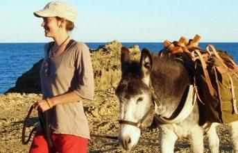 """6-Tägige selbstgeführte Eselwanderung- """"Auf dem Weg zum Mittelmeer"""""""